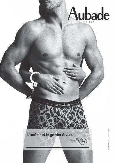 PHOTOS. Aubade pour hommes : la marque renouvelle ses collections masculines avec un modèle de