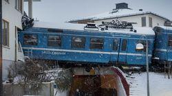 Un accident de train surréaliste à