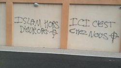 Isère: des tags racistes sur une mosquée et un internat