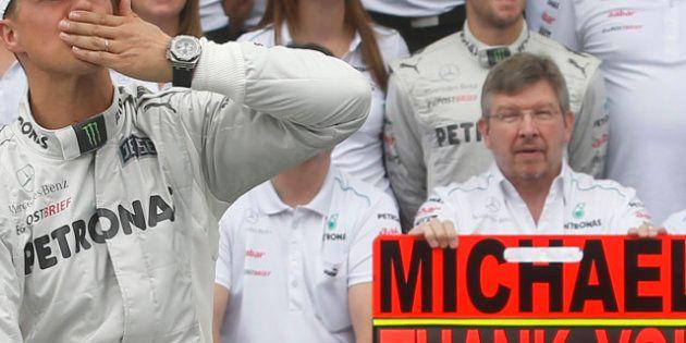 VIDÉOS. Formule 1: Michael Schumacher prend sa retraite sportive pour la deuxième