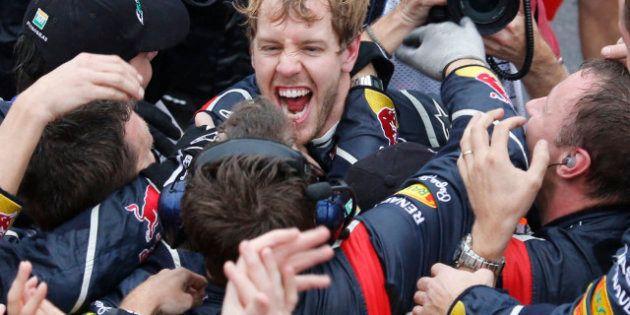 Sebastian Vettel sacré champion du monde de F1 pour la troisième