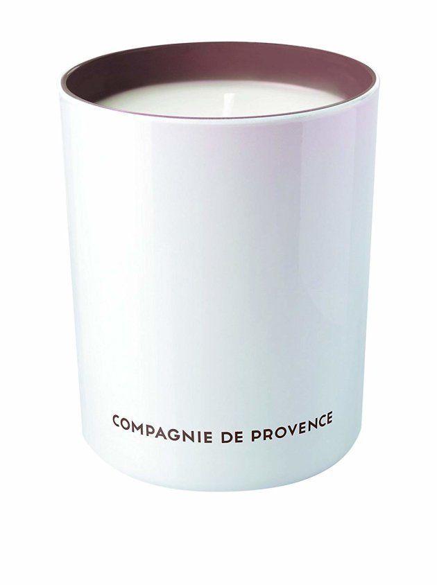Compagnie de Provence, bougie à l'huile d'olive et la