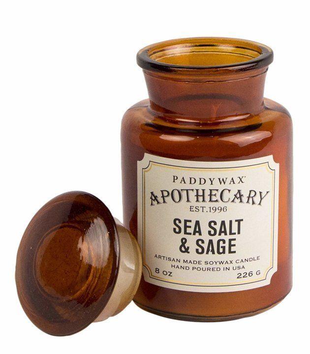 Paddywax, bougie au sel de mer et à la