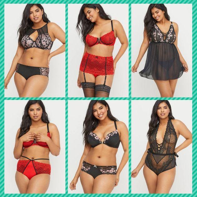 La lingerie inclusive pour la Saint-Valentin par Lane Bryant (Images