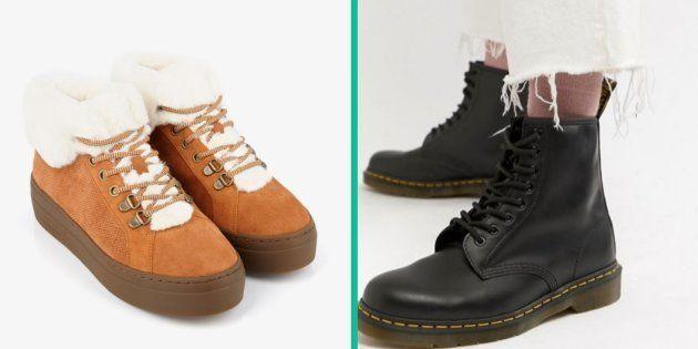 Les chaussures à porter sous la neige pour éviter les chutes avec