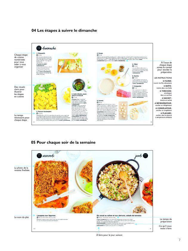 La présentation du livre de batch-cooking de Keda
