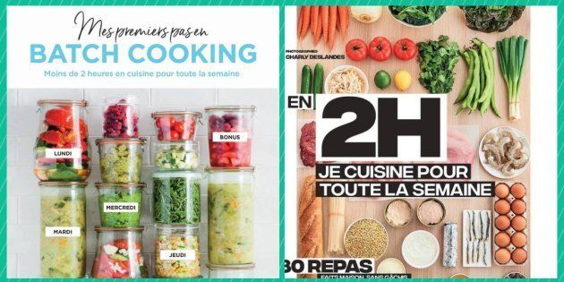 Aliments Ultra Transformes 4 Livres De Batch Cooking Pour
