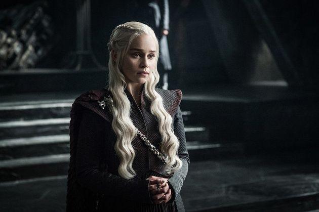 Emilia Clarke asDaenerys Targaryen in