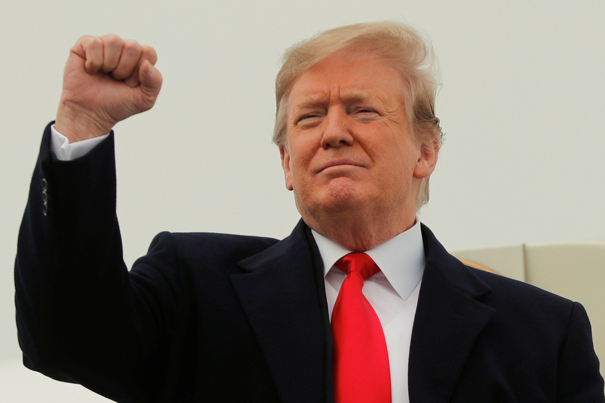 Trump Is Now Greeting People With 'No Collusion' Instead Of