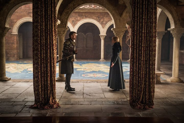 Jaime and Cersei in happier times.
