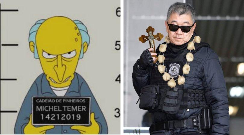 Prisão de Michel Temer gera profusão de memes na