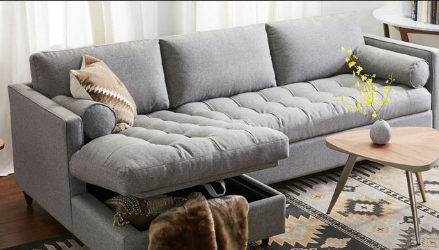 17 Storage Sofas and Sectionals For Small