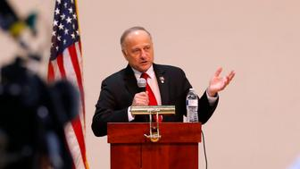 "Rep. Steve King (R-Iowa) couldn't tell a resident of his home state whether hebelieved white societies are better than others because he said the questionwas too ""hypothetical.""Mary"