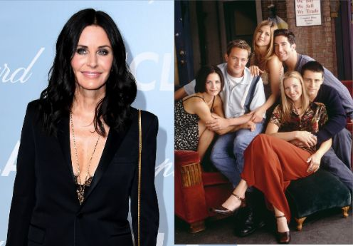 Courteney Cox Returns To Real-Life 'Friends' Apartment, And She's Got
