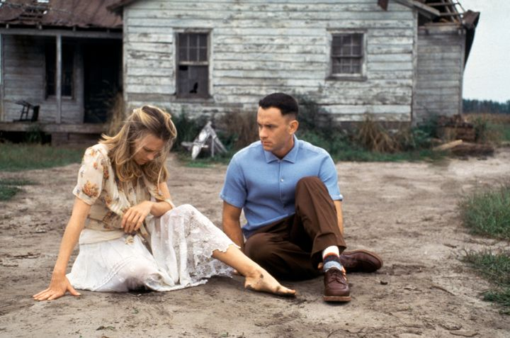 "1994's ""Forrest Gump"" starred Robin Wright and Tom Hanks and received six Oscars, including Best Picture."