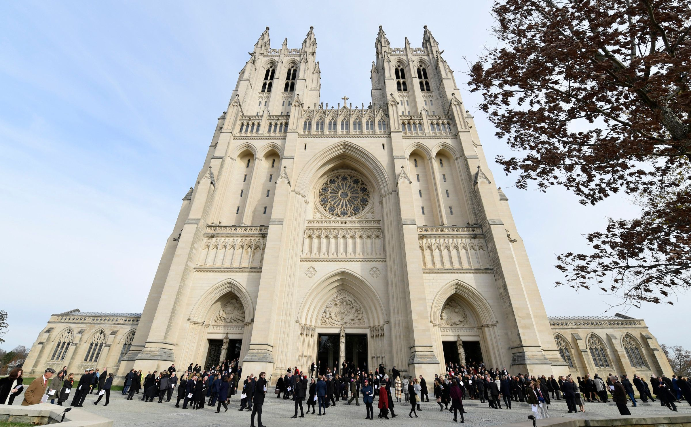 Washington National Cathedral: John McCain's Funeral Did Not Require Trump's