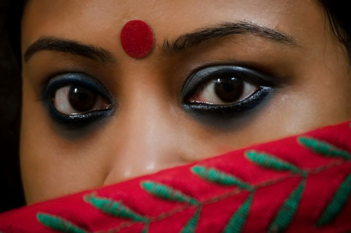According to Ranavat, women used to make their own kohl at home by dipping a cotton ball in ghee and lighting it to create a flame. The soot is what women used for kohl or kajal eyeliner.