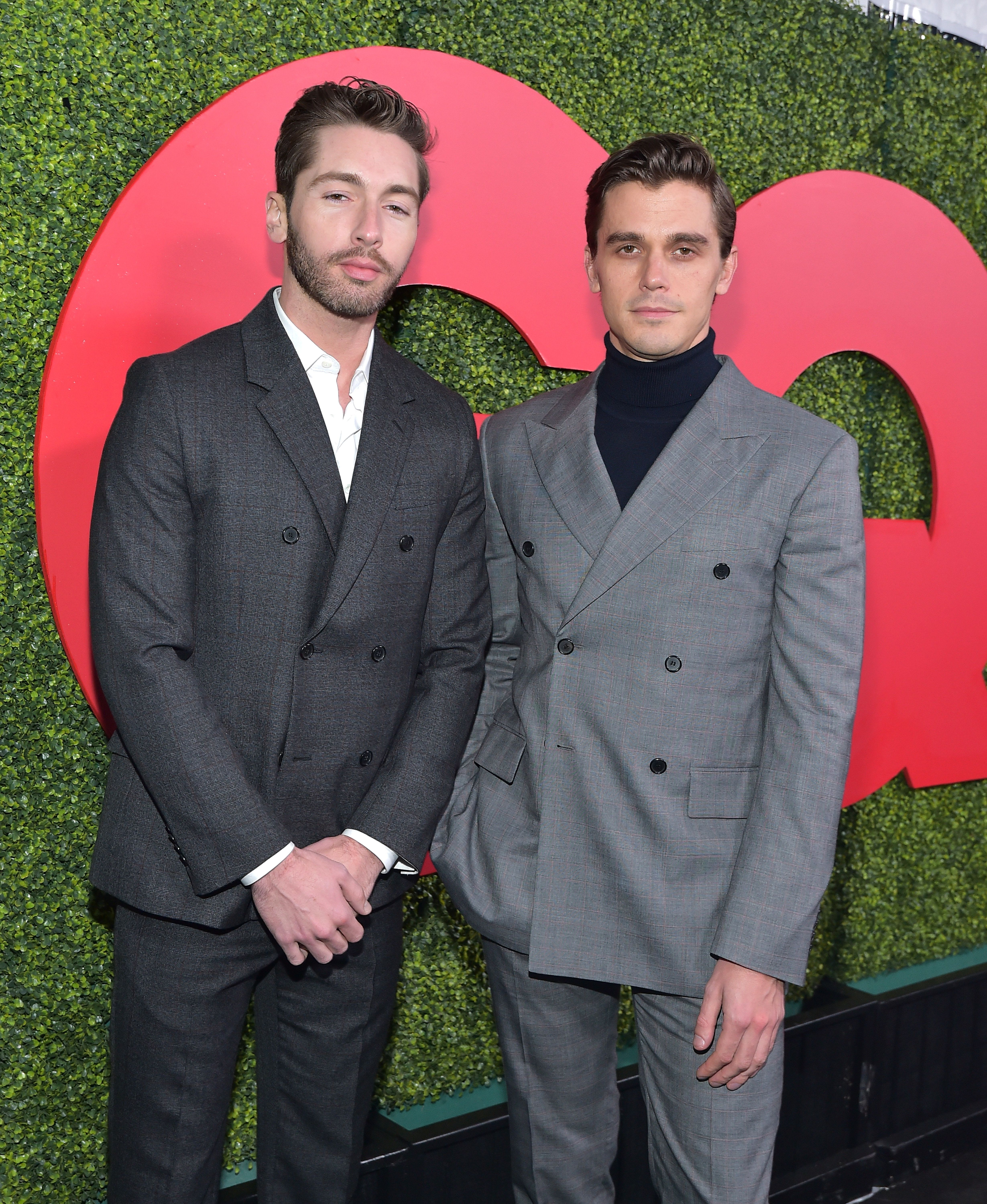 BEVERLY HILLS, CA - DECEMBER 06:  Joey Krietemeyer (L) and Antoni Porowski attends the 2018 GQ Men of the Year Party at a private residence on December 6, 2018 in Beverly Hills, California.  (Photo by Stefanie Keenan/Getty Images for GQ)