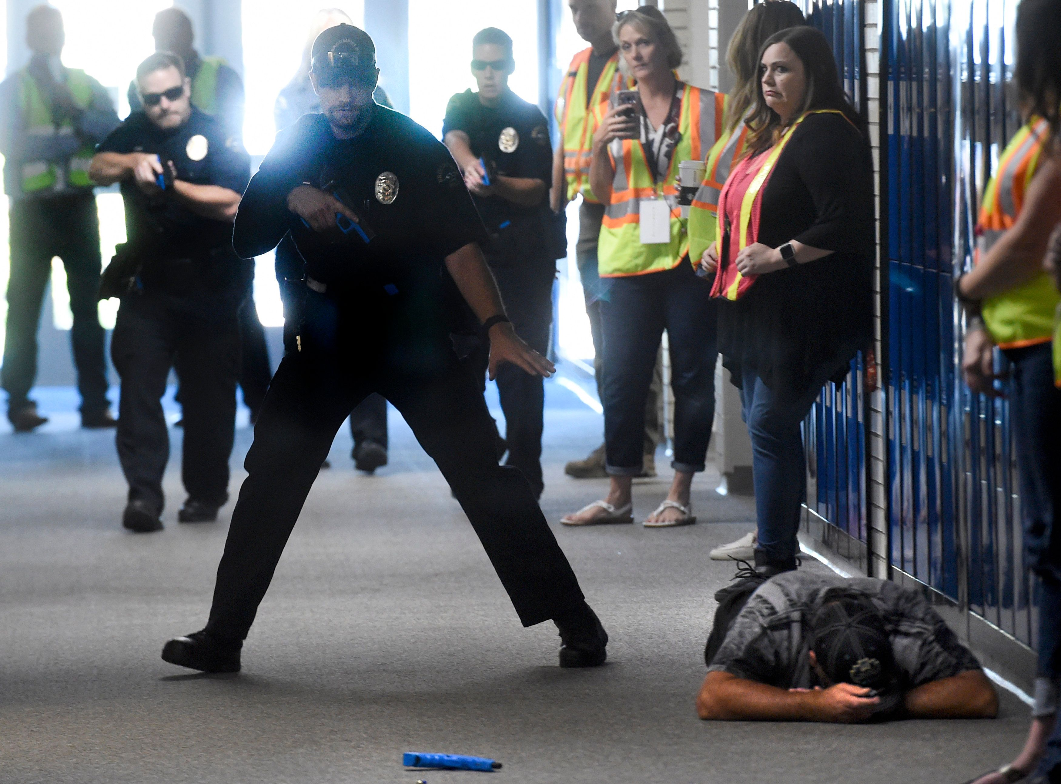 Teachers Reportedly Shot 'Execution Style' With Pellets In Active Shooter Drill