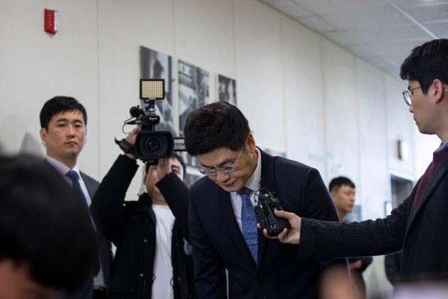 양민석 YG 대표이사가 주주총회 앞두고 입장을