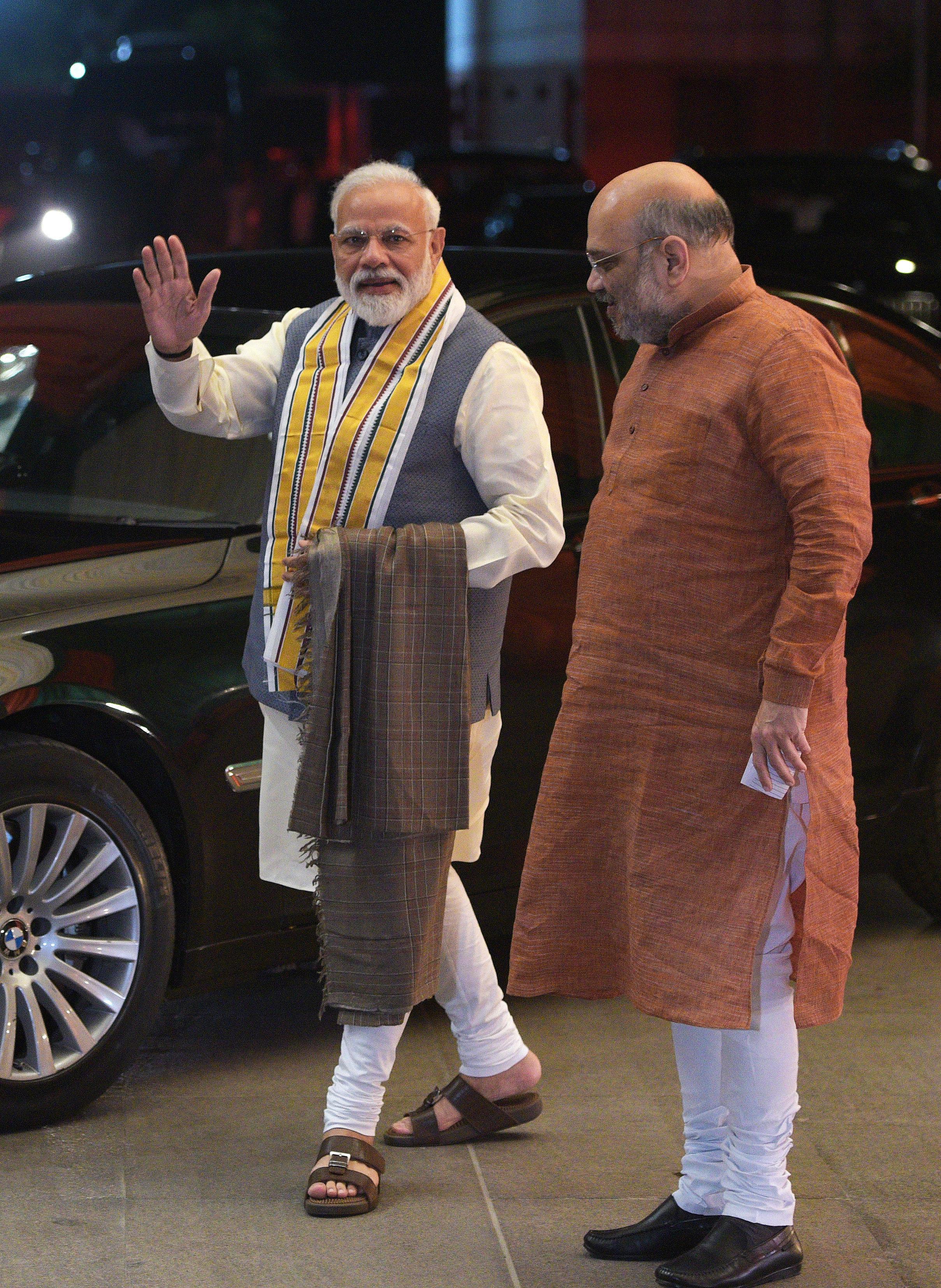 Modi From Varanasi, Amit Shah From Gandhinagar In BJP's 1st List Of 184