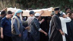시리아 내전을 피해 뉴질랜드에 왔다가 희생된 부자의 장례식이