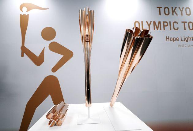 2020 도쿄올림픽 성화봉은 의미를 담은 재료로