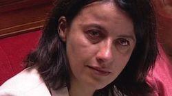 Les larmes de Cécile Duflot à