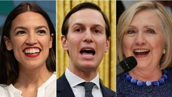 Alexandria Ocasio-Cortez, Jared Kushner, Hillary Clinton