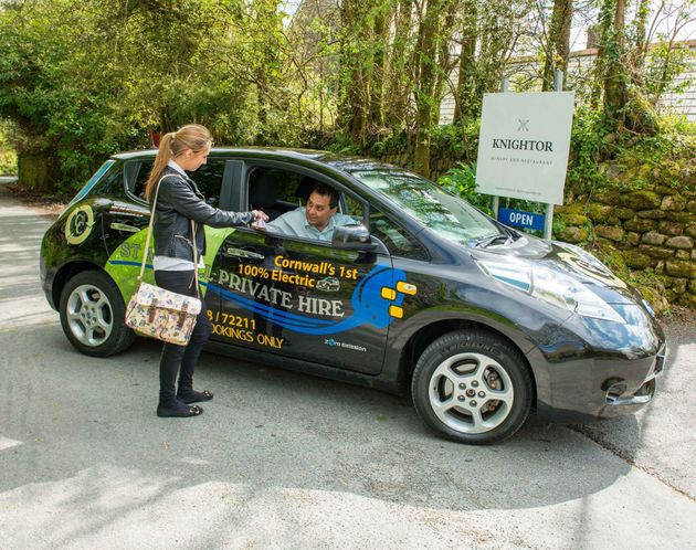 Les taxis 100% électriques au Royaume-Uni et le succès croissant des transports écologiques en