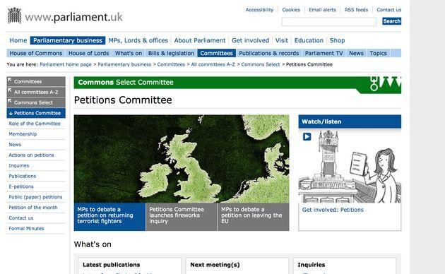 Más de un millón de personas colapsan la web del Parlamento británico pidiendo que se cancele el