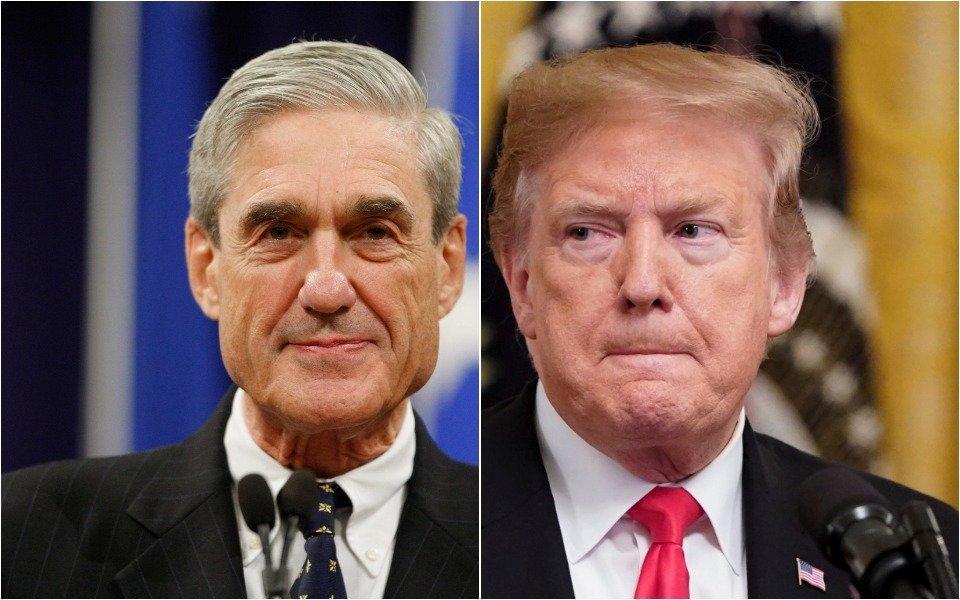 Robert Mueller, Donald Trump