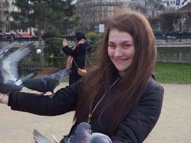 The second year university student had not been seen since 1