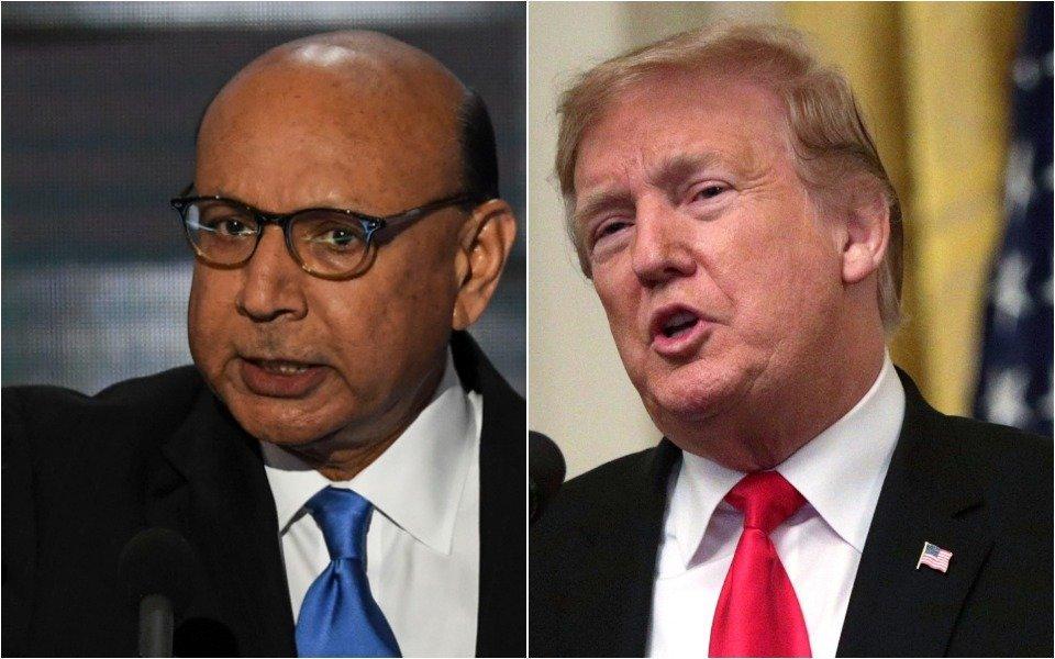 Khan and Trump