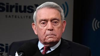 WASHINGTON, DC - MARCH 23:  Dan Rather (L) hosts a SiriusXM Roundtable Special Event with Parkland, Florida, Marjory Stoneman Douglas High School Students and activists Emma Gonzalez, David Hogg, Cameron Kasky, Alex Wind, and Jaclyn Corin (R) at SiriusXM Studio on March 23, 2018 in Washington, DC.  (Photo by Larry French/Getty Images for SiriusXM)