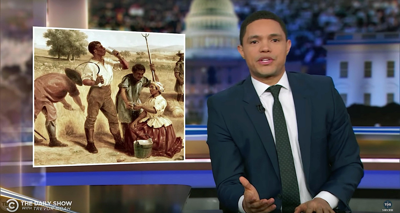 Trevor Noah On Reparations: 'I Have My Eye On You, Elizabeth