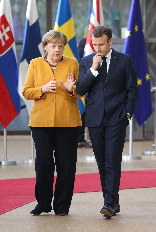 Brexit-Bericht: Bei Gipfel-Gesprächen geriet Merkel mit Macron