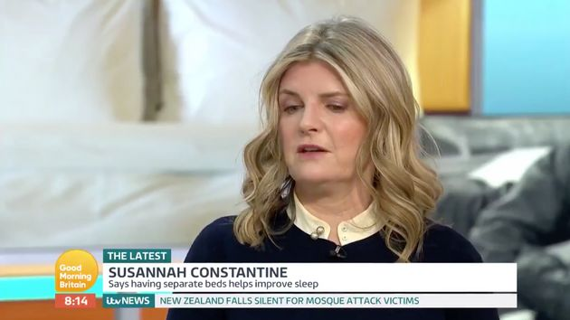 Susannah Constantine might not be invited back on Good Morning Britain in a