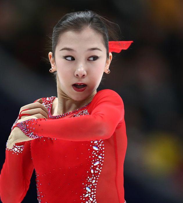 トゥルシンバエワが女子初の4回転成功 優勝はザギトワ、紀平 ...