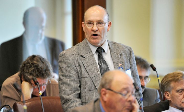 Maine state Rep. Richard Pickett, pictured in June 2015.