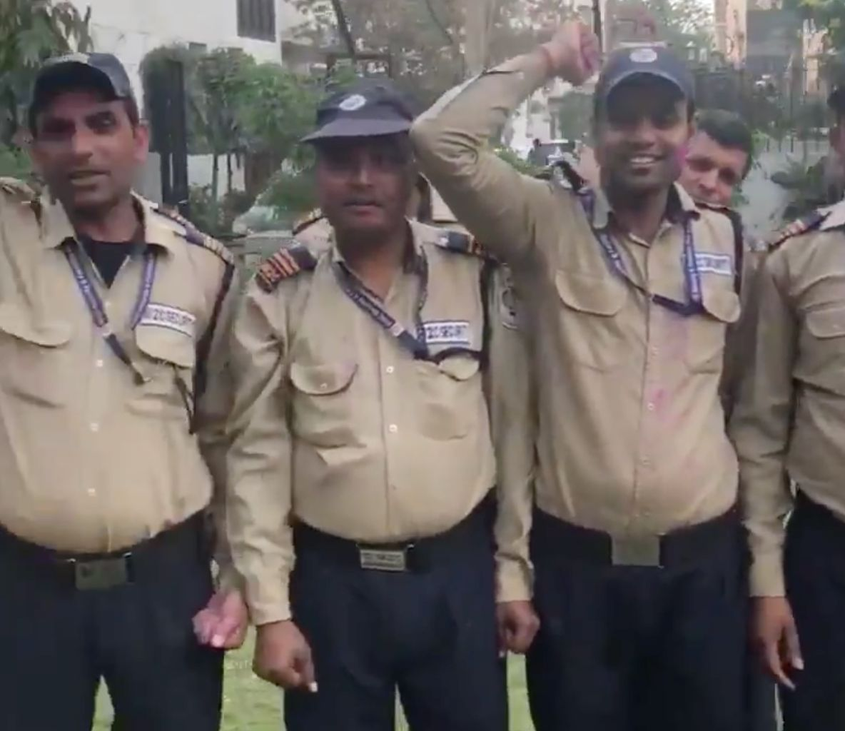 Screenshot from the 30-second video posted by Kuljeet Singh