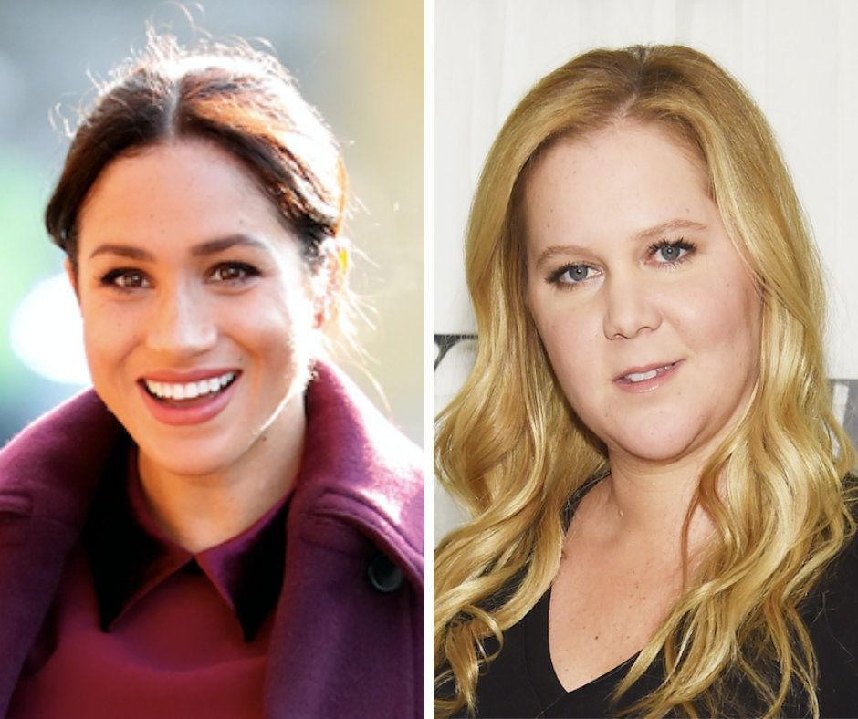 Amy Schumer On Being Pregnant At The Same Time As Meghan Markle: 'It's Not