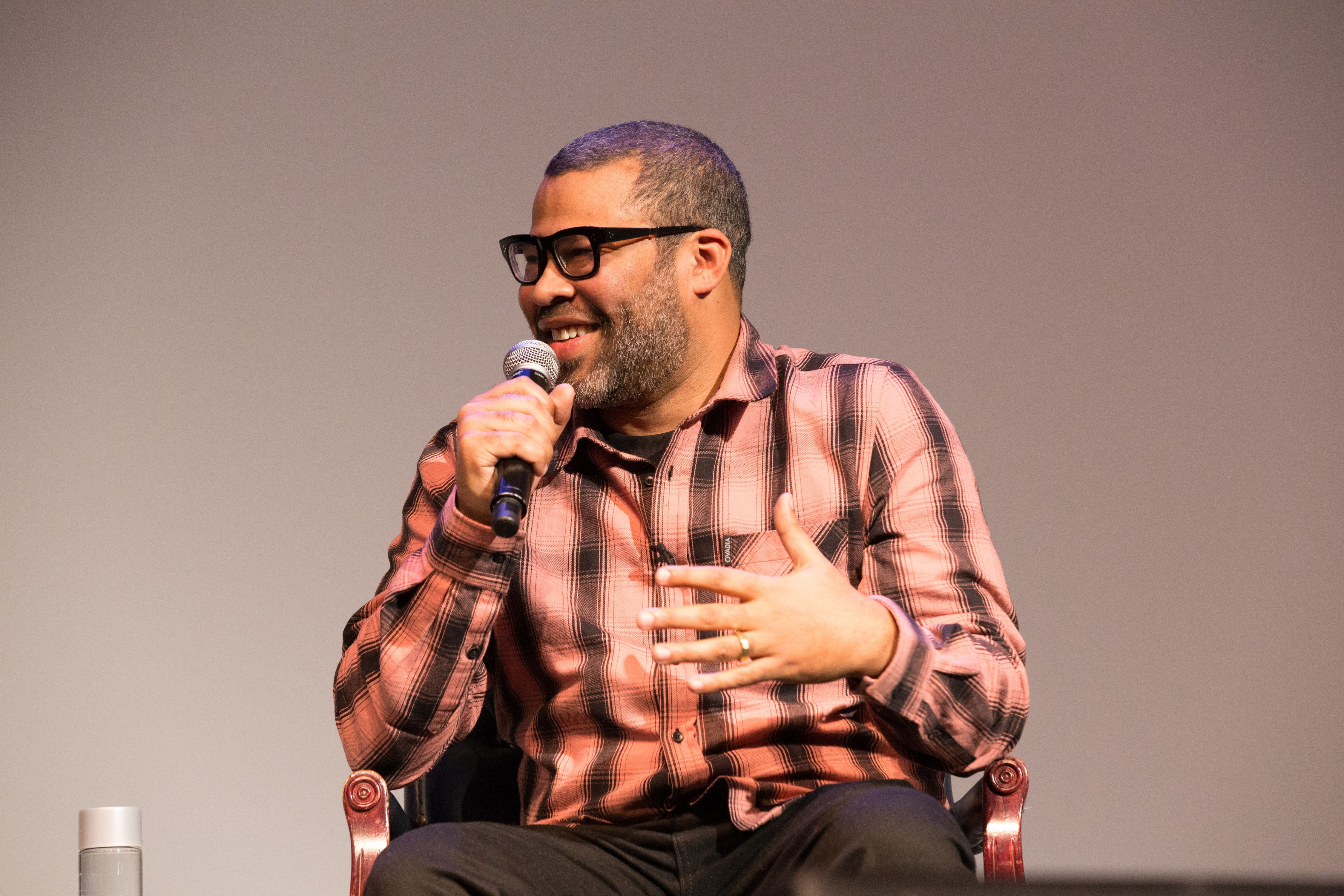 WASHINGTON, DC - MARCH 20: Jordan Peele attends 'US'  movie screening at Howard University on March 20, 2019 in Washington, DC. (Photo by Brian Stukes/Getty Images)