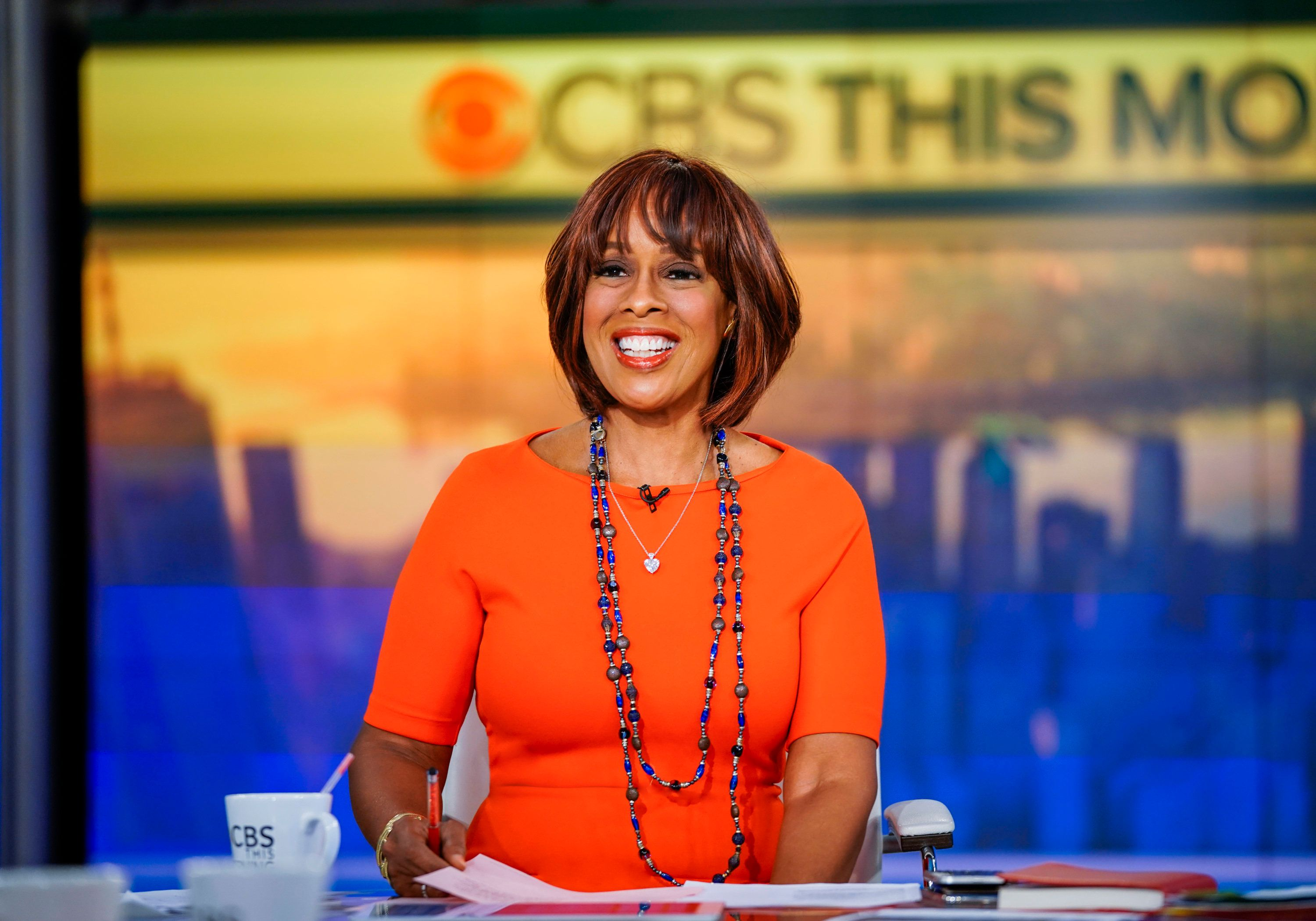 NEW YORK - OCTOBER 10: Gayle King, CO-HOST OF 'CBS THIS MORNING.' (Photo by Michele Crowe/CBS via Getty Images)