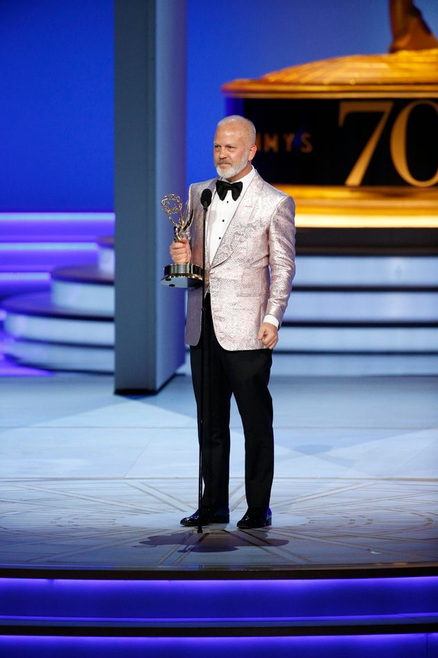 Ryan Murphy at the Emmys last