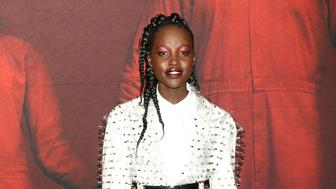 """Lupita Nyong'o attends the premiere of """"Us"""" at the Museum of Modern Art on Tuesday, March 19, 2019, in New York. (Photo by Greg Allen/Invision/AP)"""