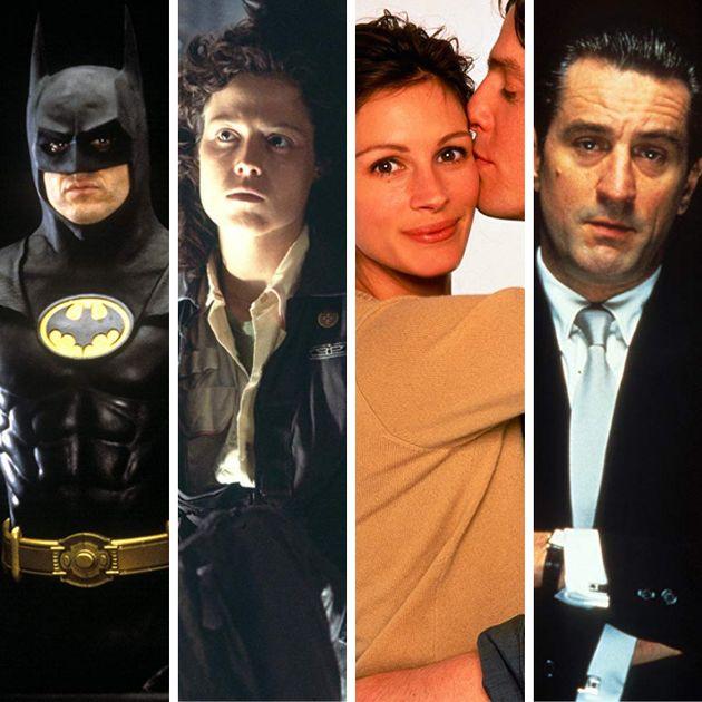 Lista de clássicos conta com: Batman, Alien - O Oitavo Passageiro, Um Lugar Chamado Notting Hill...