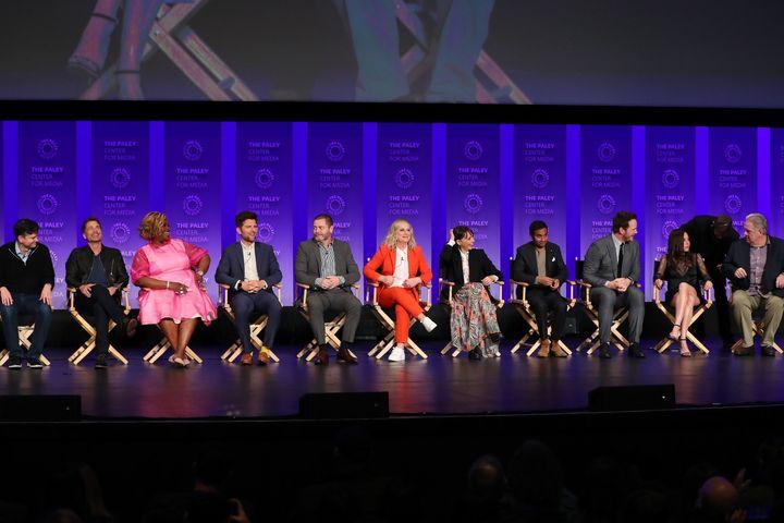 Michael Shur, Rob Lowe, Retta, Adam Scott, Nick Offerman, Amy Poehler, Rashida Jones, Aziz Ansari, Chris Pratt, Aubrey Plaza,