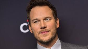 US actor Chris Pratt arrives for the PaleyFest presentation of NBC's 'Parks and Recreation' 10th Anniversary Reunion at the Dolby theatre on March 21, 2019 in Hollywood. (Photo by Chris Delmas / AFP)        (Photo credit should read CHRIS DELMAS/AFP/Getty Images)