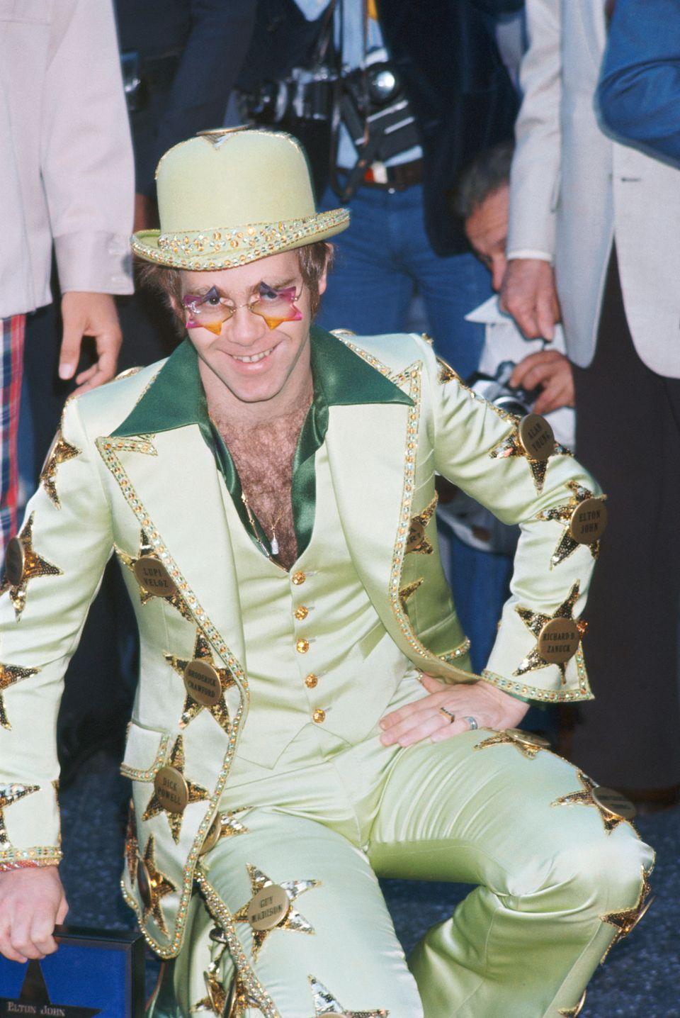 elton john's most gloriously overthetop costumes through